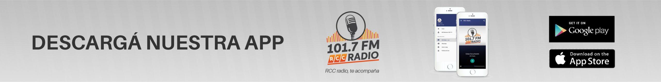 Descargá la app de RCC Radio